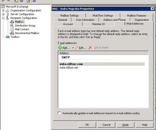 Mailtron шлюз поштовий шлюз, даючи графічний доступ до fetchmail